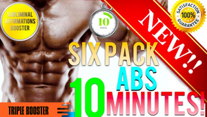 🎧GET SIX PACK ABS IN 10 MINUTES! SUBLIMINAL AFFIRMATIONS BOOSTER! - ITS WORKS - RESULTS FAST!