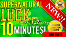 Load image into Gallery viewer, GET EXTREME LUCK IN 10 MINUTES! BECOME SUPERNATURALLY LUCKY! SUBLIMINAL AFFIRMATIONS BOOSTER!