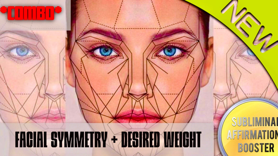GET PERFECT FACIAL SYMMETRY + DESIRED WEIGHT *COMBO* YOU WILL LOVE THIS BOOSTER!