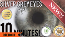 Load image into Gallery viewer, GET STUNNING SILVER GREY EYES IN 10 MINUTES! SUBLIMINAL AFFIRMATIONS BOOSTER! REAL RESULTS DAILY!