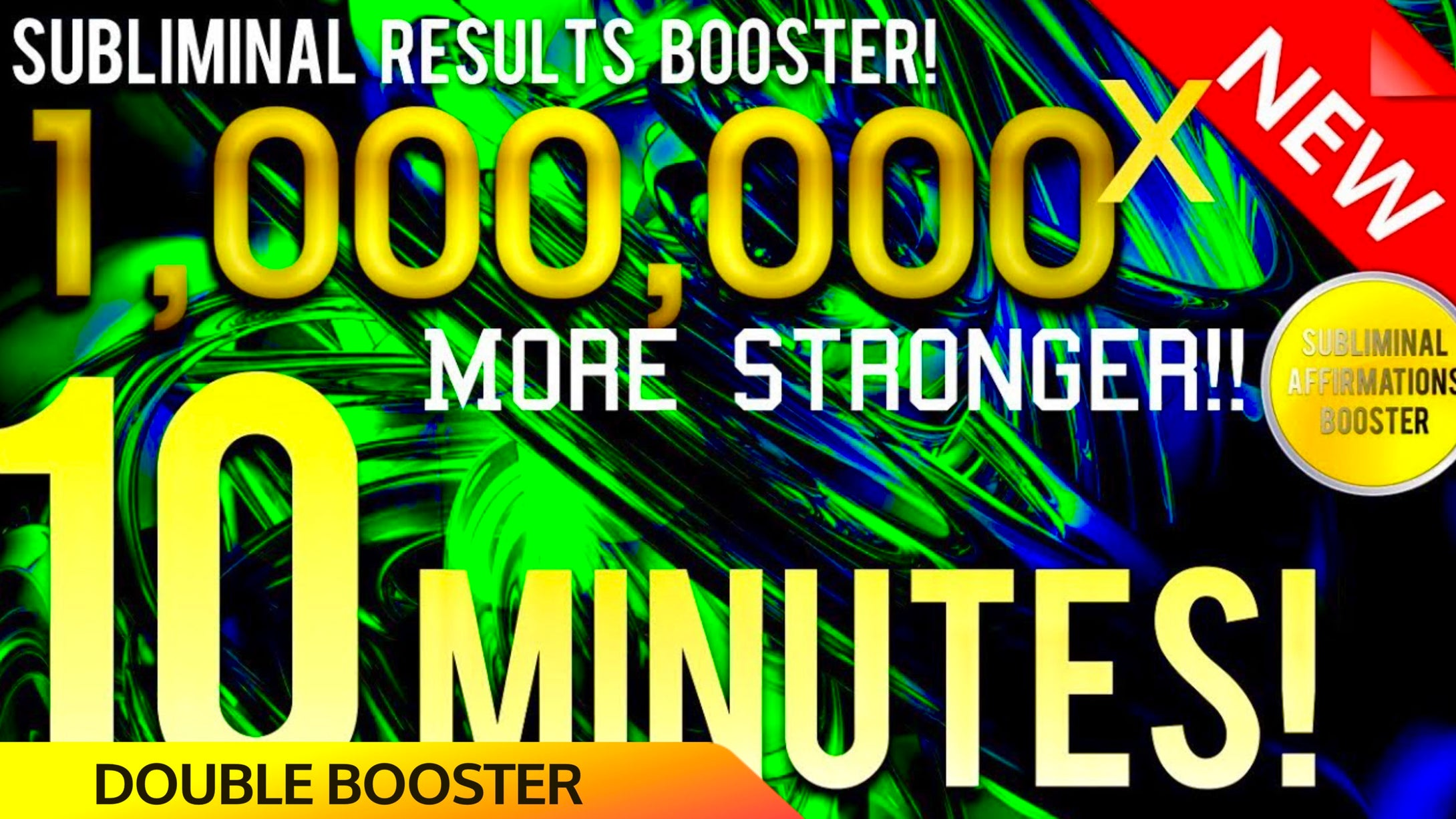 SUBLIMINAL RESULTS BOOSTER! GET RESULTS IN 10 MINUTES! 1,000,000x MORE STRONGER! 😱!
