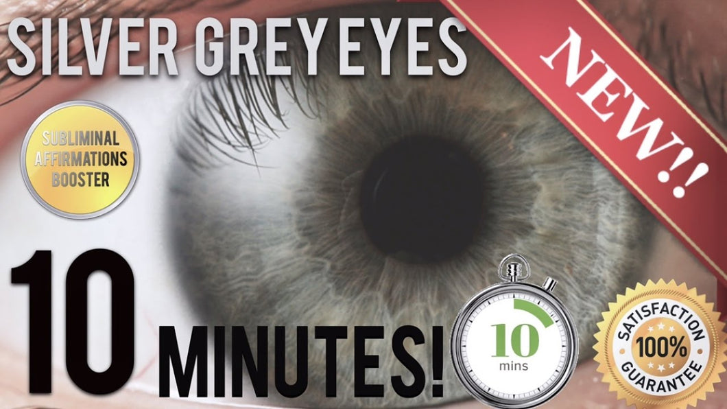 GET STUNNING SILVER GREY EYES IN 10 MINUTES! SUBLIMINAL AFFIRMATIONS BOOSTER! REAL RESULTS DAILY!