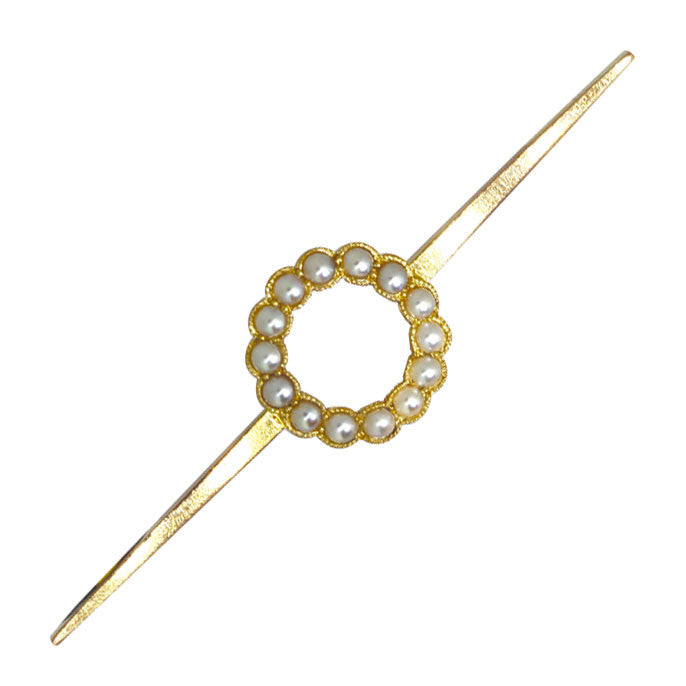 Pearl Stock Pin