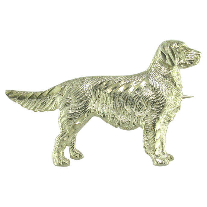 Retriever Brooch