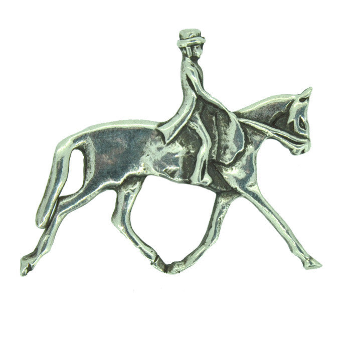 Dressage Rider Brooch