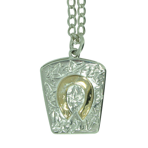 Hallmarked Silver Horse Shoe Locket