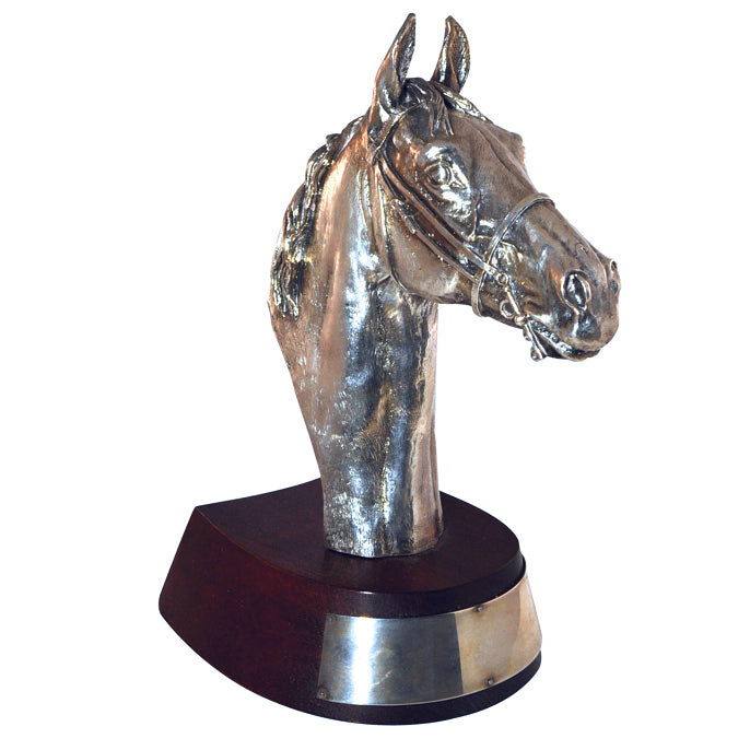 Silver Horse Head Trophy