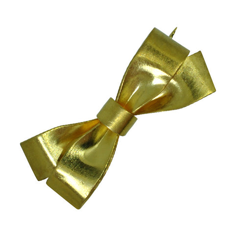 Gold Bow Stock Pin