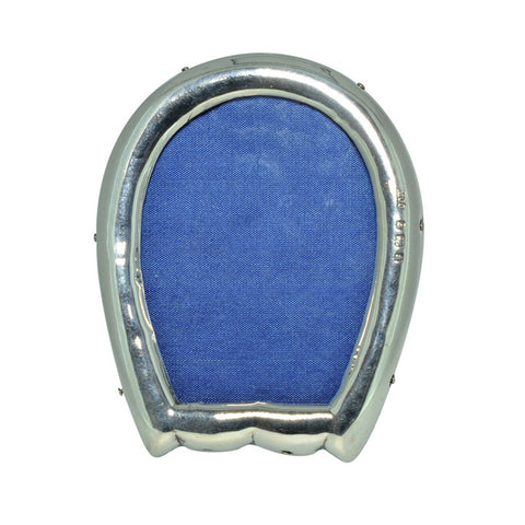 Silver Horse Shoe Picture Frame