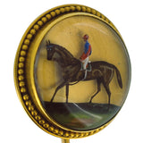 racehorse stick pin