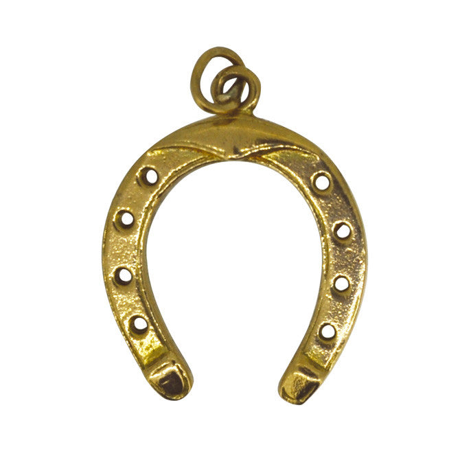 Horse Shoe 'Good Luck' Charm