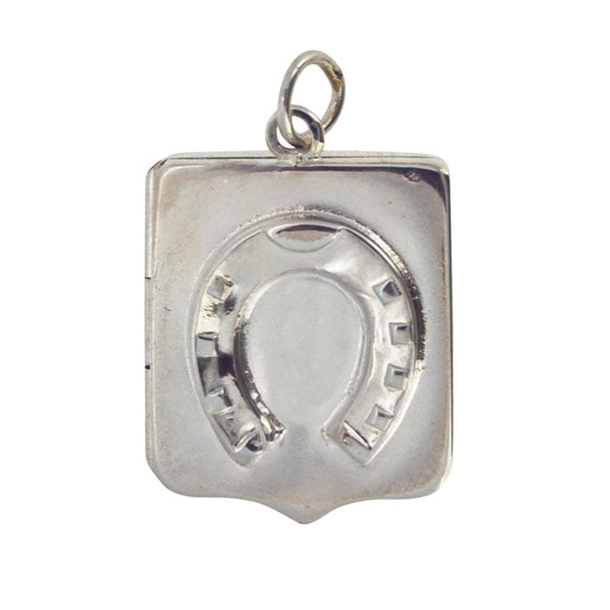 Antique Horse Shoe Locket