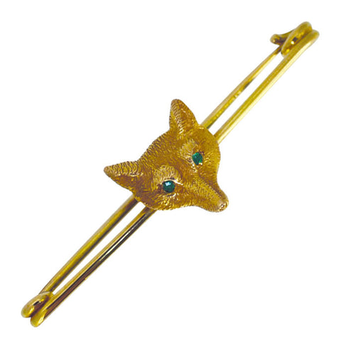 Fox Head Stock Pin