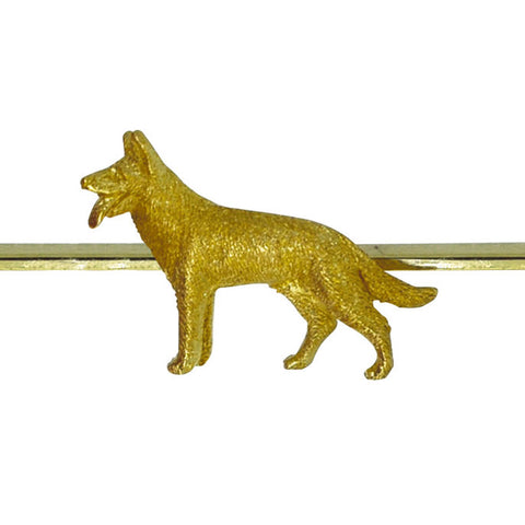 Dog Bar Brooch