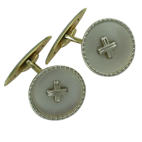 Pearl Cuff-Links