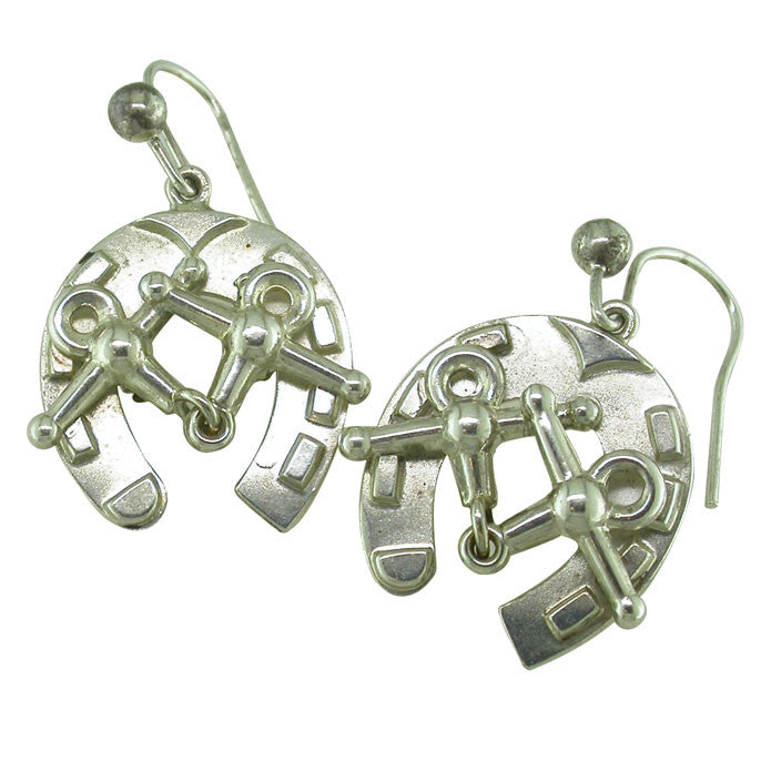 Victorian Horse Shoe Earrings