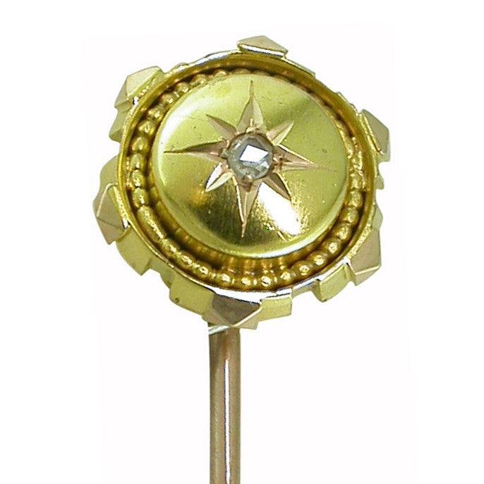 Victorian Diamond Stick Pin