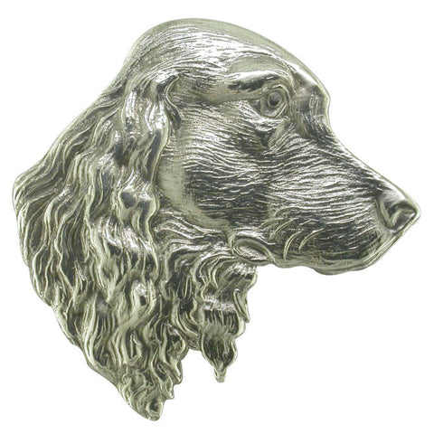 Spaniel Head Brooch