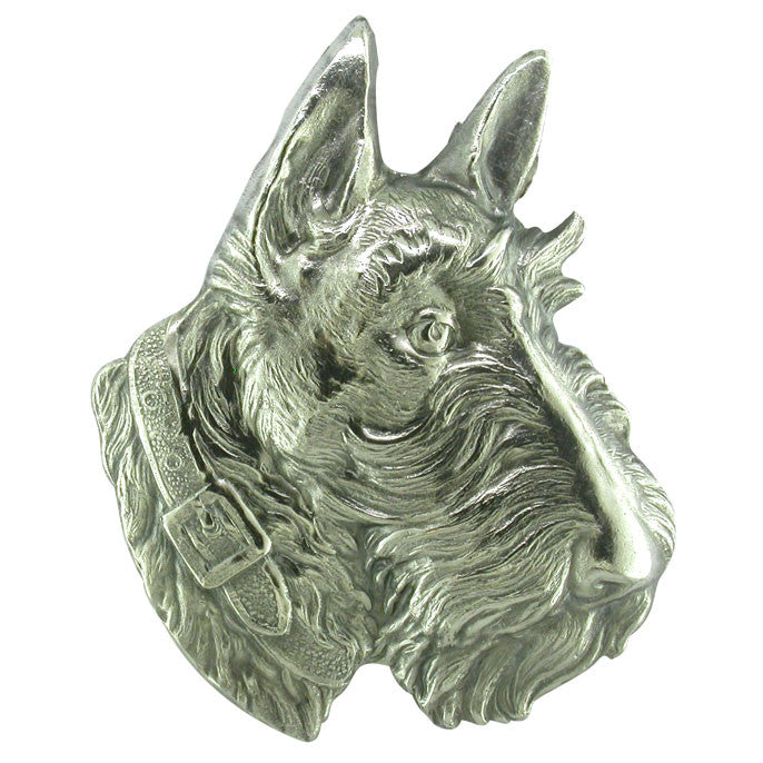 Dog Head Brooch