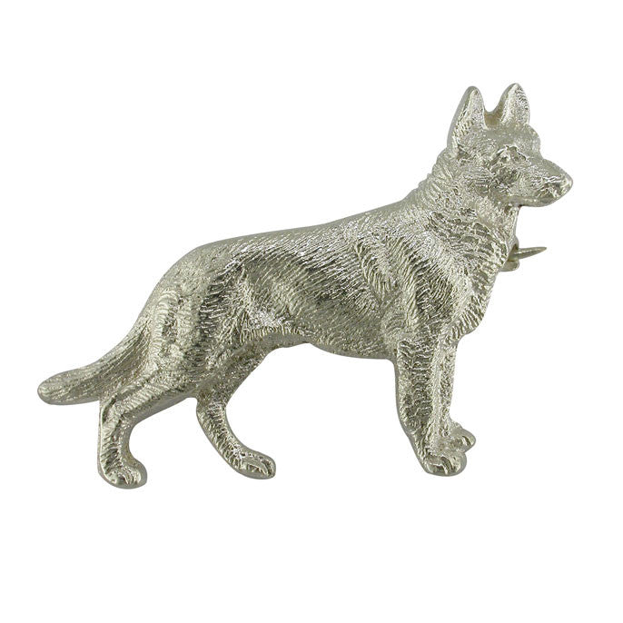 Alsatian Dog Brooch