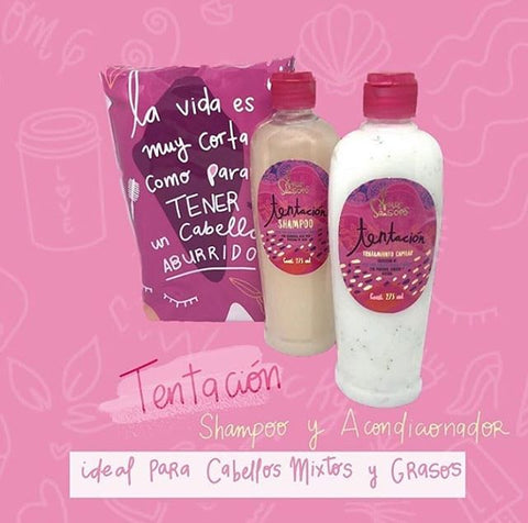 Image of Shampoo y Acondicionador Chocolate Blanco