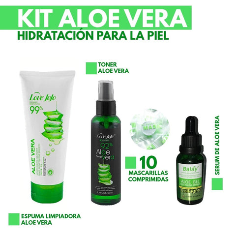 Image of Kit de Cuidado Facial Aloe Vera
