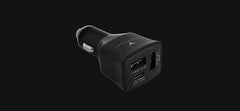 Maxpower CC721 Quick Charge 3.0 + USB-C Tri-Port USB Car Charger