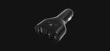 Maxpower CC730 Quick Charge 3.0 Tri-Port USB Car Charger