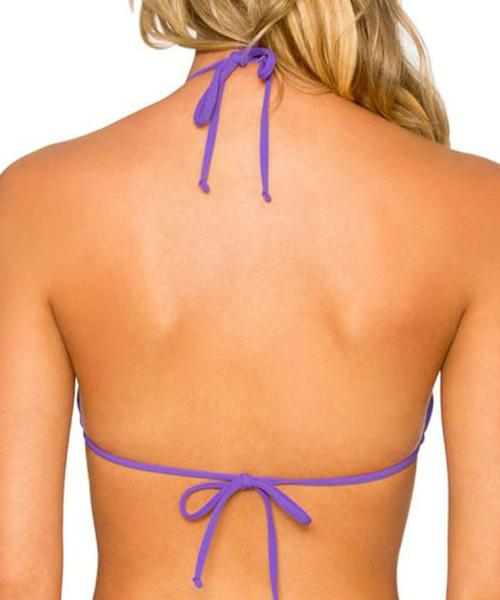 Sunsets Separates Vivid Violet - Slide Triangle Bikini Top
