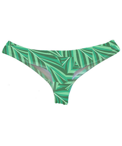 Kovey - Offshore Brazilian Bikini Bottom in Banana Leaf - Beachbliss Swimwear & Apparel - 1