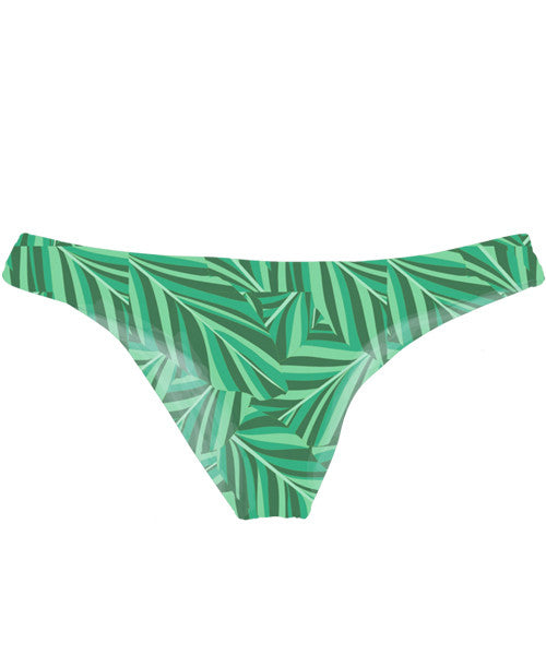 Kovey - Shore Bikini Bottom in Banana Leaf - Beachbliss Swimwear & Apparel - 1