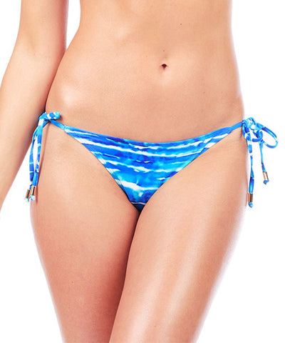 Voda Swim String Bikini Bottom in Tahiti