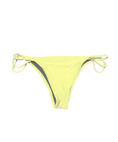 Kovey - Tide String Tie-Side Brazilian Bikini Bottom in West Indies