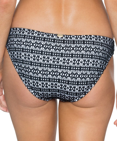 Sunsets Separates Black Diamond - Low Rider Hipster Bikini Bottom