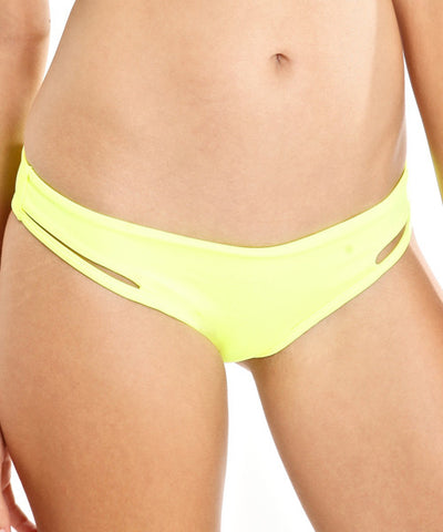Peixoto - Balata Bikini Bottom in Neon Yellow - Beachbliss Swimwear & Apparel - 1