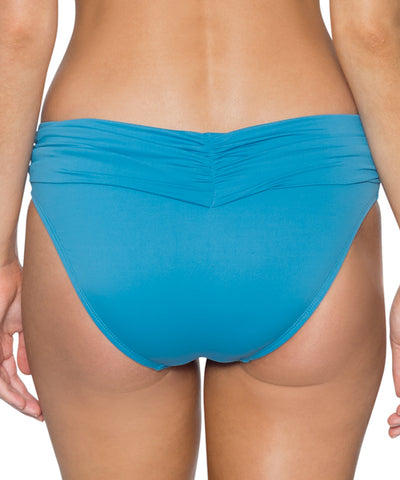 Swim Systems Bay Blue - Aloha Banded Bikini Bottom