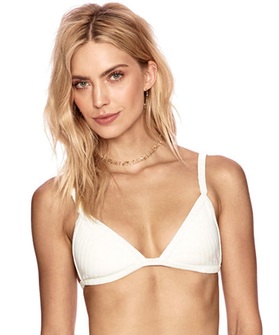 Beach Riot x Stone Cold Fox - Kyla Top in White Stripe