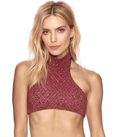 Beach Riot x Stone Cold Fox - Elle Top in Moroccan Red