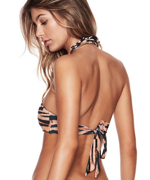 Beach Riot - Tigra Bengal Cropped Halter Top - Beachbliss Swimwear & Apparel - 2