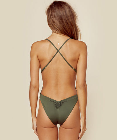 Blue Life Swim - Eclipse One Piece Swimsuit in Fern