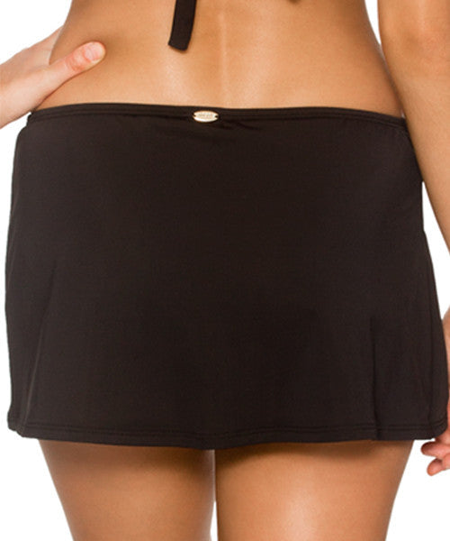Sunsets Separates Black - Sidekick Swim Skirt Bottom