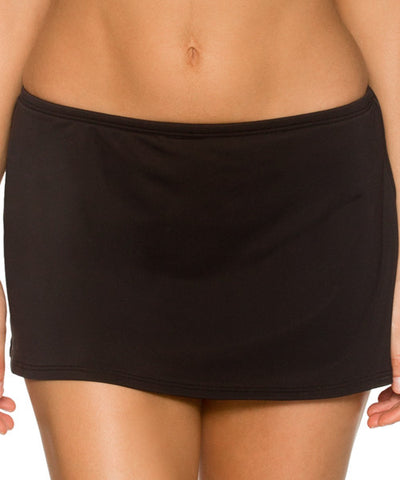 Sunsets Separates Black - Sidekick Swim Skirt Bottom - Beachbliss Swimwear & Apparel - 1