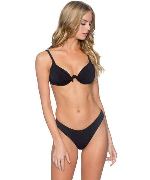 Sunsets Separates Black - Legend Molded Underwire Bikini Top