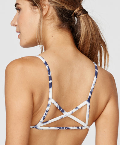 Blue Life Swim - Island Fever Triangle Top in Blue Lagoon