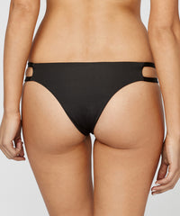Blue Life Swim - Malibu Crush Cheeky Bikini Bottom in Black - Beachbliss Swimwear & Apparel - 2