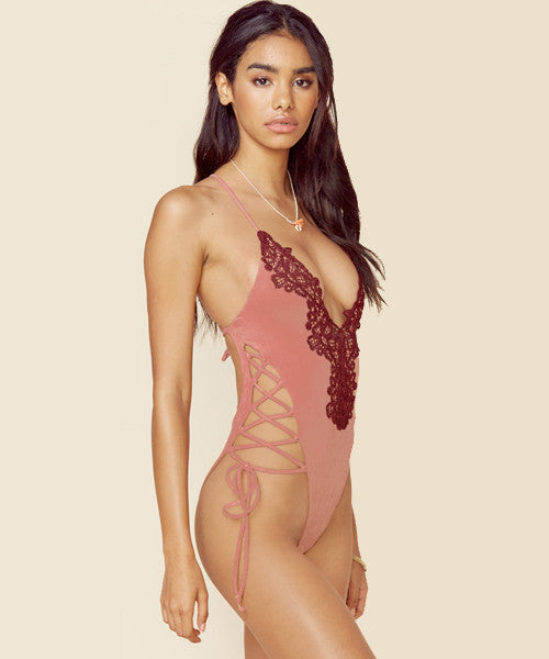 Blue Life Swim - Soleil One Piece Swimsuit in Sunset