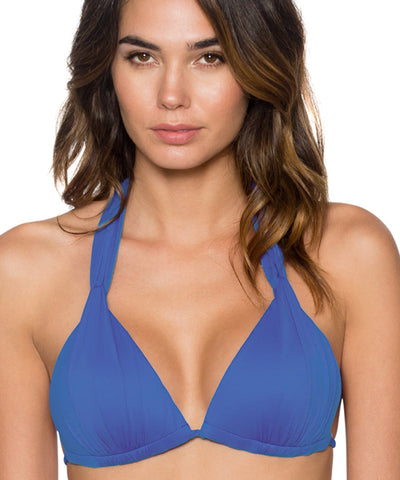 Swim Systems Blue Violet -Day Dreamer Triangle Bikini Top