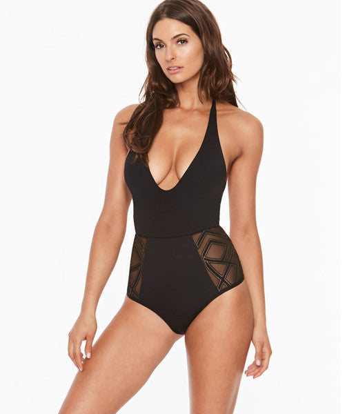 L Space Maios Fireside Cheeky One Piece Swimsuit  a2f2c6e4d