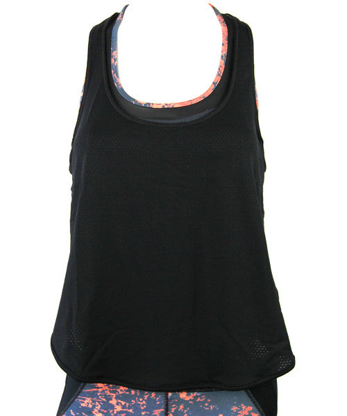 Vimmia - Breathe Tank Top in Black - Beachbliss Swimwear & Apparel - 1