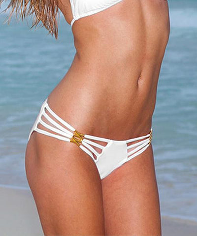 Sauvage - Diva Strappy Bikini Bottom Full Cut